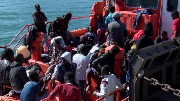 Rescatados ayer 268 inmigrantes en las costas andaluzas, 136 de ellas en el Campo de Gibraltar
