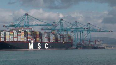 Trabajadores de la terminal de contenedores del puerto alcanzan un acuerdo de mejora laboral