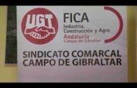 El secretario de acción sindical de FICA-UGT visita la comarca