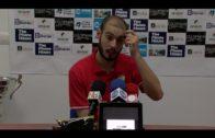 Antonio Sánchez contento con su gol pero con sabor agrio por la derrota