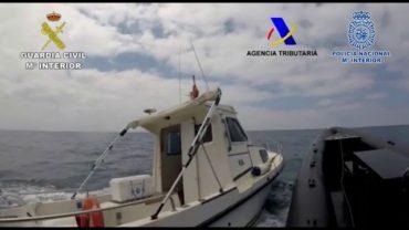Cae una organización de narcotraficantes que introducía hachís en embarcaciones recreativas