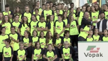 El Club Atletismo Bahía de Algeciras presenta a sus equipos esta tarde