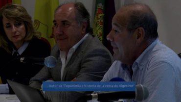 """Félix Rodríguez Lloret presentó ayer su libro """"Toponimia e historia de la costa de Algeciras"""""""
