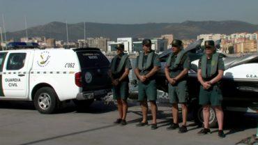 La Comandancia de Algeciras recibe a 43 nuevos Guardias Civiles destinados al Campo de Gibraltar