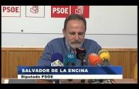 El PSOE critica el incumplimiento del Gobierno en la instalación de barreras contra los narcos
