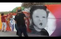 "Juventud organiza un concurso de graffiti con el Centro de Adultos ""Juan Ramón Jiménez"""