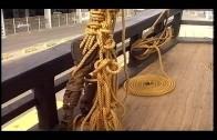 La réplica de la Nao Victoria visita el puerto de Algeciras para abrir sus cubiertas al público