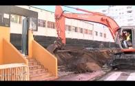 Reanudan las obras del colector de la Cuesta del Rayo