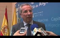Alcalde y subdelegado tratan la recuperación de la arena de las playas de Algeciras