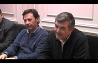 Buena sintonía entre la junta gestora del Algeciras CF y el Ayuntamiento.