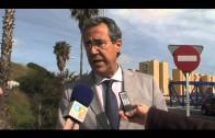 Continúan las obras de mejora y acondicionamiento del nudo de Pajarete en Algeciras