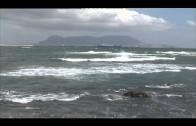 La Aemet activa la alerta amarilla por lluvias y viento en el Estrecho
