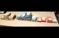 La Guardia Civil de Algeciras, interviene 140.975 euros ocultos en dos botes de detergente