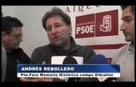 Responsables socialistas se reúnen con el Foro de Memoria Histórica