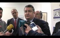 Sanz se compromete a impulsar las infraestructuras en la comarca