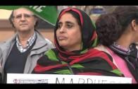 Concentración convocada por la asociación de Amigos del Pueblo Saharaui
