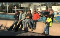 Los trabajadores de la empresa Servicios Auxiliares Marítimos inician una huelga en Algeciras.