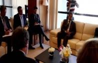 El alcalde se reúne con la secretaria general del Partido Socialista Unificado de Marruecos