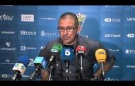 Guti destaca la entrega de su equipo y la gran afición