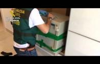 La Guardia Civil desmantela una red de narcotráfico que usaba el puerto para introducir cocaína