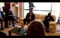 Landaluce mantiene un encuentro en Rabat con la viceministra de Exteriores de Marruecos