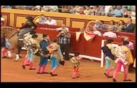 Diego Luque triunfa en la feria de Abrucena cortando tres orejas