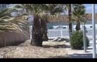 El Ayuntamiento prepara los paseos del litoral antes de que comience la temporada de playas