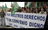 Empresa y trabajadores de limpieza del hospital no alcanzan ningún acuerdo en el Sercla