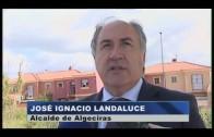 Landaluce supervisa los trabajos de mejora en Huerta de Las Pilas