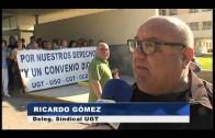 Los trabajadores de limpieza del Hospital se ponen en huelga