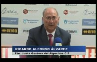 Ricardo Alfonso Álvarez da la cara en los malos momentos