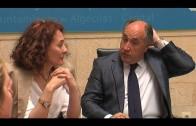 Una representación del Ayuntamiento de Ponferrada encabezada por su alcaldesa,  visita Algeciras