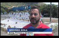 Algeciras da la bienvenida a sus visitantes a su entrada por Pelayo