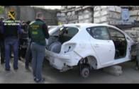 Desarticulada una organización internacional dedicada al tráfico ilícito de vehículos