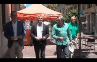 Javier Cano elige Algeciras como primer destino en la campaña electoral de Ciudadanos