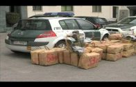 La Guardia Civil interviene 120 kilos de hachís