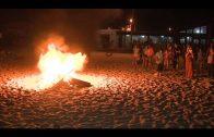 Normalidad en la Noche de San Juan en las playas algecireñas