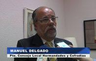 El alcalde recibe al nuevo presidente del Consejo Local de Hermandades y Cofradías