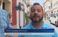 El ayuntamiento continúa instalando macetas en el barrio San Isidro