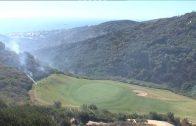 El Infoca da por controlado los incendios forestales en La Línea y San Roque