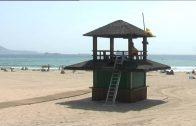 El lunes llegan las pasarelas de hormigón para las playas de El Rinconcillo y Getares
