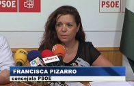 El Psoe denuncia la falta de mantenimiento de las playas de Algeciras.