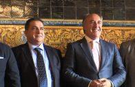 El responsable de la Interpol en Marruecos visita al alcalde en el Ayuntamiento