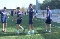 La plantilla del  Algeciras descansa y jugara el jueves en Chiclana.