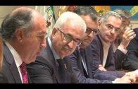Manuel Jiménez Barrios visita el Ayuntamiento de Algeciras