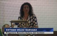 Presencia municipal en el pregón en honor de Nuestra Señora del Carmen
