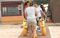 Programa de Igualdad y Playas destinado a las personas con problemas de movilidad