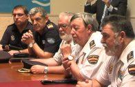 Reunión de coordinación con los mandos policiales de Algeciras