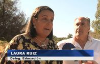 El alcalde visita los terrenos cedidos por el Ayuntamiento para el nuevo colegio en San Bernabé