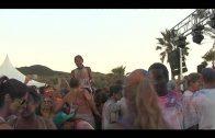 La Gira Colorstribe congregó el sábado a miles de personas en Getares